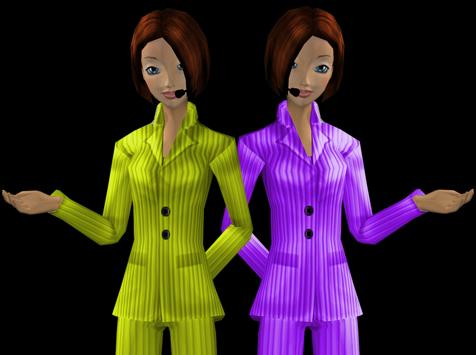 Twee WebSpeaking avatars meer omzet online
