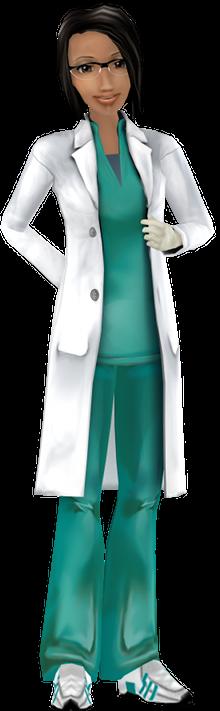 Avatar in doktersjas